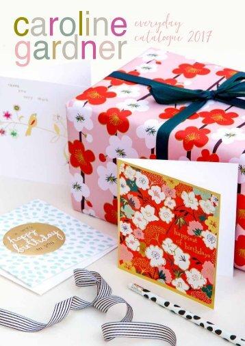 Caroline Gardner SS17 Greeting Cards