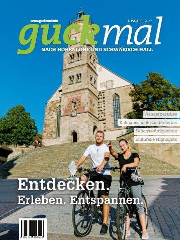 guckmal nach Hohenlohe und Schwäbisch Hall 2017