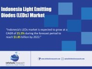 Indonesia LED market