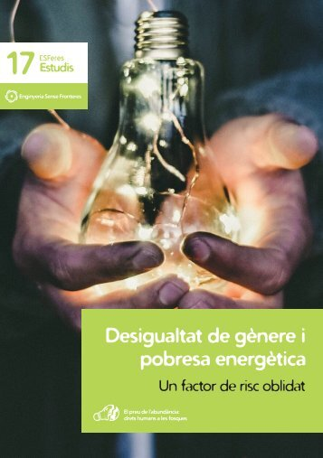 Desigualtat de gènere i pobresa energètica