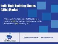 India LED market