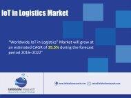 IoT in Logistics Market