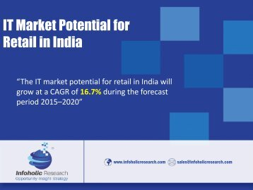 IT Market Potential for Retail in India