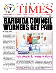 Caribbean Times 82nd Issue - Tuesday 24th January 2017