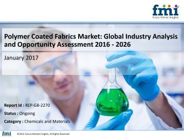 Polymer Coated Fabrics Market Segments, Opportunity, Growth and Forecast By End-use Industry 2016-2026