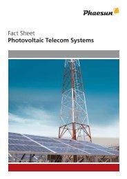 EN FS short Solar TelecomSystems
