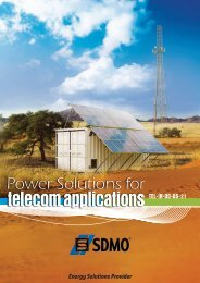 EN SDMO Telecom solutions