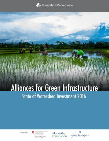 Alliances for Green Infrastructure