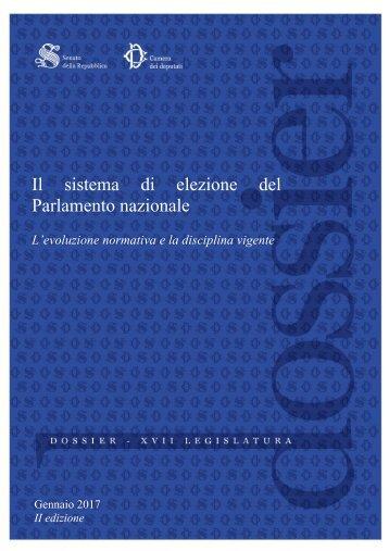 Il sistema di elezione del Parlamento nazionale