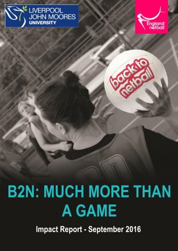 B2N MUCH MORE THAN A GAME