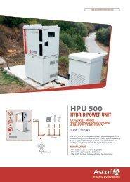 EN Ascot Hybrid Power Unit Flyer