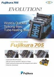 EN Fibre splicing 70S