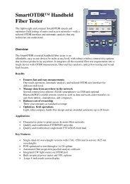 EN OTDR measuring units quickview