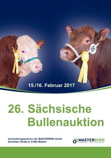 MAR-Katalog-Sächsische Bullenauktion