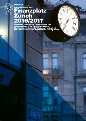 Finanzplatz Zürich 2016/2017