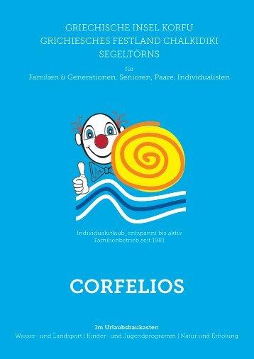 Corfelios Reiseveranstalter Prospekt 2017 - print