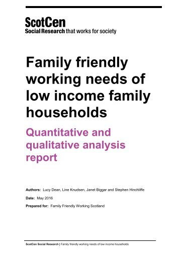 low income family households