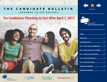 For Candidates Planning to Test After April 1 2017