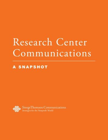 Research Center Communications