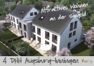 Inningen / Augsburg – Vier Doppelhaushälften in Massivbauweise