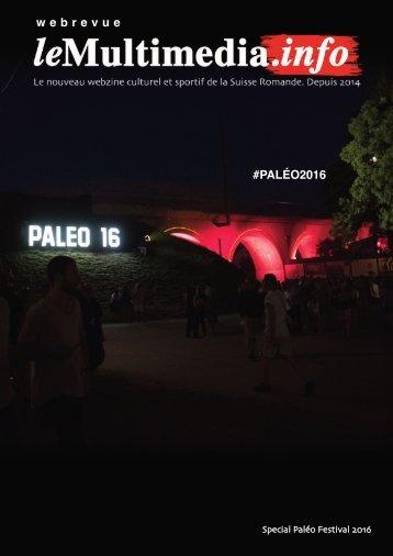w e b r e v u e #PALÉO2016