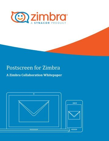 Postscreen for Zimbra
