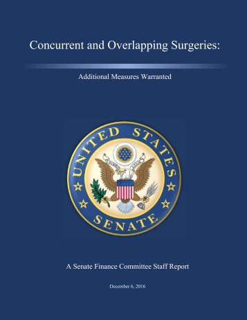 Concurrent and Overlapping Surgeries