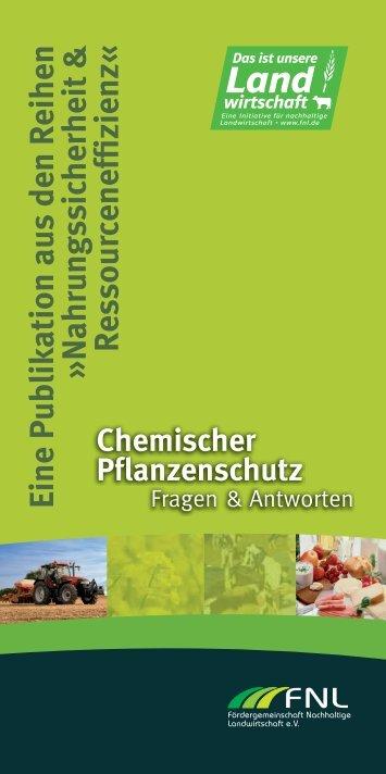 Chemischer Pflanzenschutz - FNL