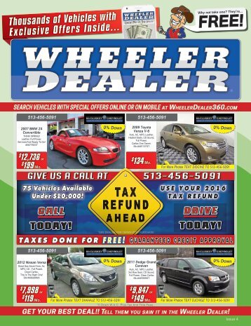 Wheeler Dealer Issue 04, 2017