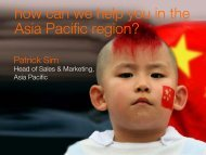Patrick Sim: overcoming challenges in Asia Pacific - Orange ...