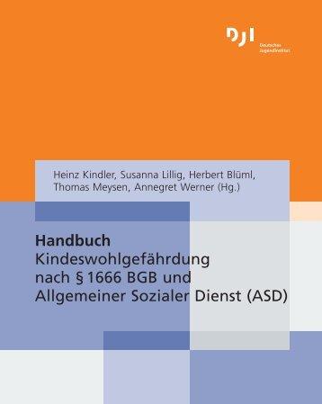 Handbuch Kindeswohlgefährdung nach §1666 BGB und ...