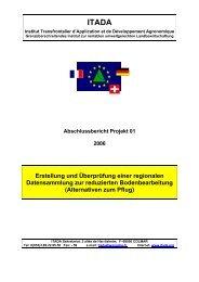 Alternativen zum Pflug - ANNA - Agentur für Nachhaltige Nutzung ...