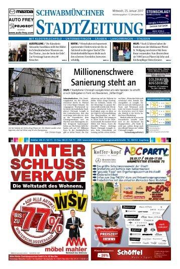 112 Schwabmünchen 25.01.2017
