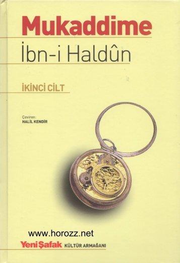 ibn-i Haldun - Mukaddime 2