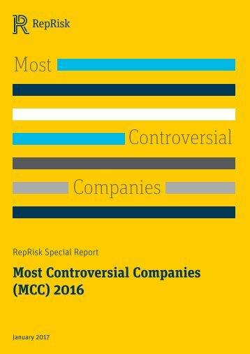 Most Controversial Companies