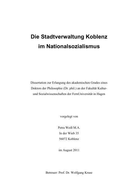 R303244der Weihnachten.Die Stadtverwaltung Koblenz Im Nationalsozialismus