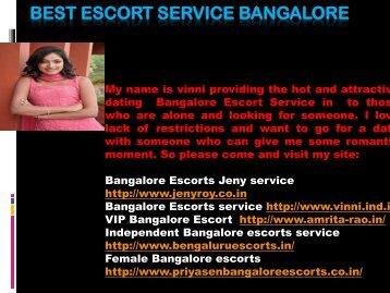Best Escort service Bangalore