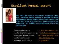 Best Escort service Mumbai