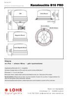 LOHR Signalgeräte PRO Series Gesamtkatalog 2017 - Seite 7