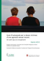 Guia d'autoajuda per a dones víctimes d'una agressió sexual recent