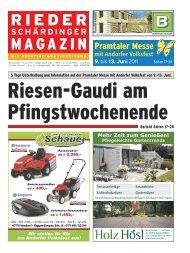 Pramtaler Messe - Rieder Schärdinger Magazin