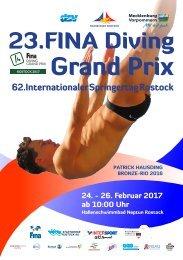 62. Internationaler Springertag - 23. FINA Diving Grand Prix Rostock 2017