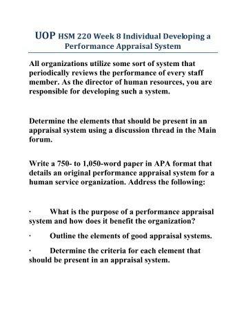 designing a reward system for a human service organization