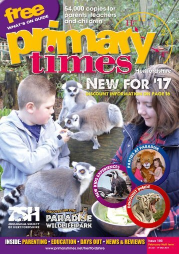 Primary Times Hertfordshire Feb 17