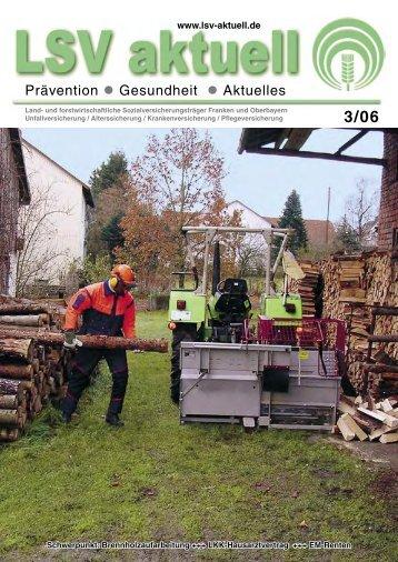 Prävention Gesundheit Aktuelles - Die Landwirtschaftliche ...