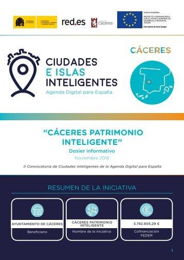 """CÁCERES PATRIMONIO INTELIGENTE"""