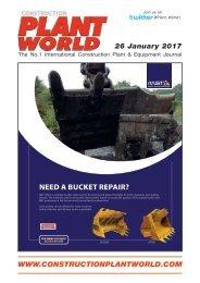 Construction Plant World  - 26th January 2017