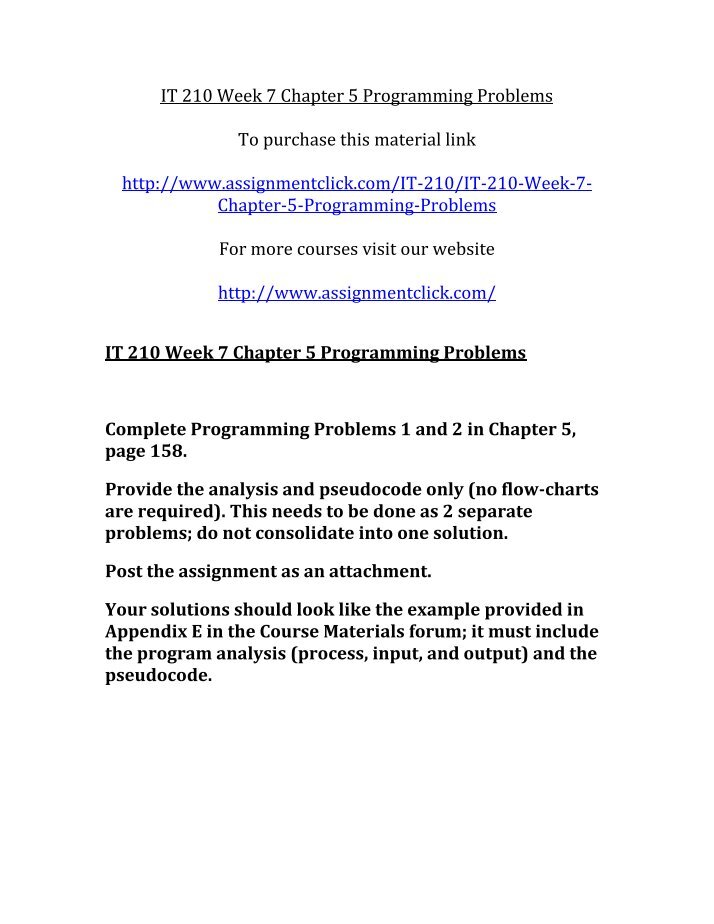 it 210 week 2 chapter 2 programming problem This website uses cookies so that we can provide you with the best user experience by continuing to use this website you are giving consent to cookies being used.