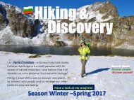 Vania's Hiking and Discovery_Winter-Spring 2017