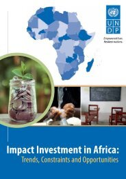 Impact Investment in Africa